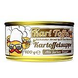 Schlump-Chili⎥Wölfchens Gourmet Karl Toffel Kartoffelsuppe in der Dose (1 x 400 g)