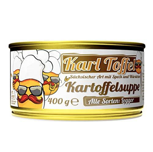 Wölfchens Gourmet Karl Toffel Kartoffelsuppe in der Dose (1 x 400 g)
