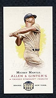 2008 topps mickey mantle