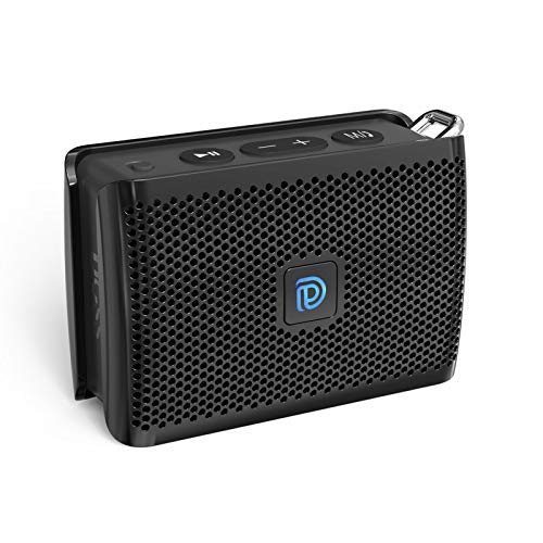 Bluetooth Speaker, DOSS Genie Portable Speaker with Clean Sound, Built-in Mic, Ultra-Portable...