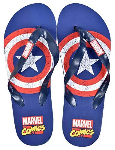 Tongs pour Homme Licence Fantaisie (51023 Marvel Avengers, Numeric_40)