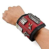 Modstyle Magnetic Wristband - Super Strong Magnets with Breathable Material, Adjustable Wrist Strap for Holding 442