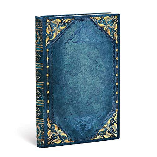 Paperblanks Cuadernos de Tapa Dura Punk en Azul | Liso. | Mini (95 × 140 mm)