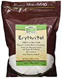 Now Foods Erythritol Natural Sweetener 2.5 LB (Pack of 2)