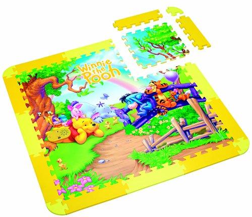 Lexibook - IT207 - Jeu éducatif Premier âge - Le tapis magique de Winnie l'Ourson