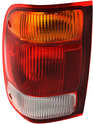 Evan-Fischer Tail Light Lens and Housing Compatible with 1998-1999 Ford Ranger...