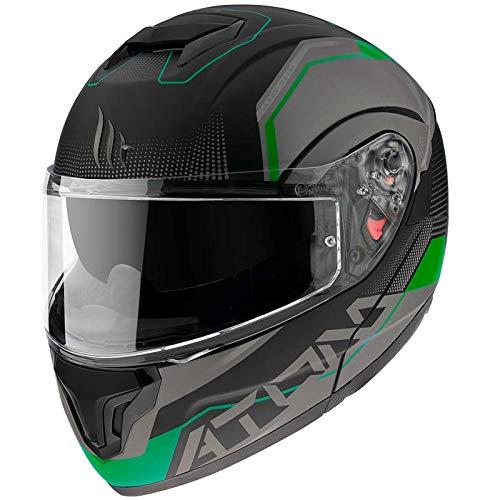 Mt Helmets Atom SV Quark A6 Matt Fluor Green L