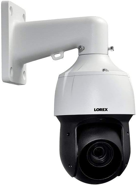 Lorex LNZ44P12B 2K HD Outdoor PTZ IP Camera with 12x Optical Zoom, 16x Digital Zoom, 330ft IR Night Vision, Color Night Vision, Metal Camera (M. Refurbished)