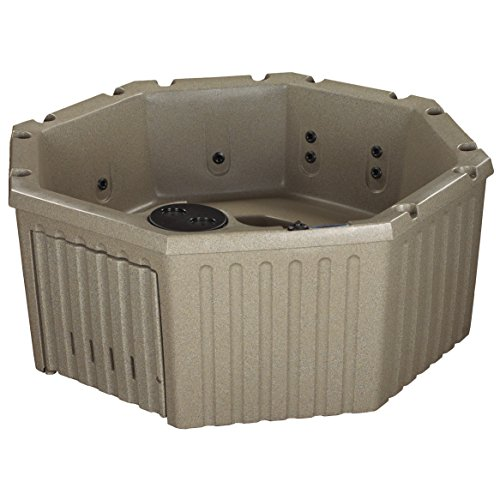 Essential Hot Tubs 11 Jets Integrity Rotationally Molded Hot Tub, Cobblestone