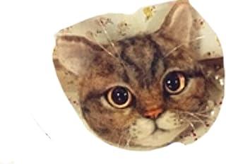 【Monshop】羊毛フェルト キット ベンガル猫 (猫 茶)