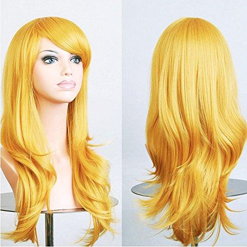 adquirir pelucas amarillas largas online