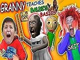 Granny the School Teacher Skit