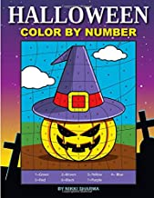 Halloween Color By Number: Coloring Book for Kids Ages 4-8
