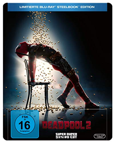 Deadpool 2 (Steelbook mit Flashdance Artwork) [Blu-ray] [Limited Edition]
