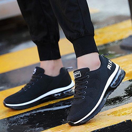 RomenSi Mens Air Cushion Sport Running Shoes Casual Athletic Tennis Sneakers US6.5-11.5