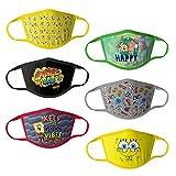 SpongeBob Squarepants Kids' Spongebob Reusable Mask Multipack, SpongeBobB, OSFA