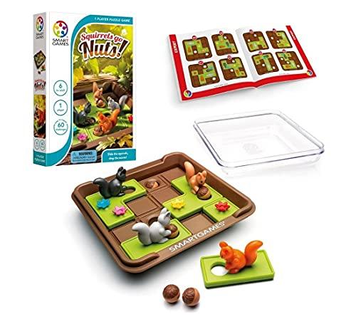 Squirrels Go Nuts! - Jogo dos Esquilos - SG425 - Smart Games