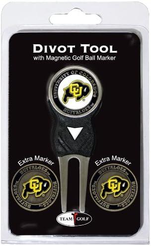 Team Golf NCAA Unisex-Adult Divot Tool Pack with 3 Golf Ball Mar