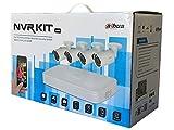 Kit VS DAHUA NVR 8CH POE + 4 bullet 2MPX POE + HD 1TB
