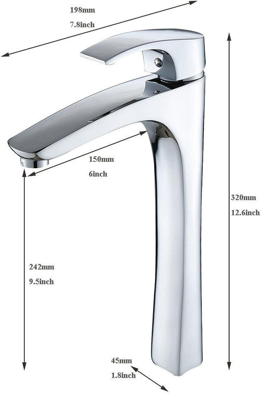 ETERNAL QUALITY Bad Waschbecken Wasserhahn Küche Waschbecken Wasserhahn Kupferchrom Hei Und Kalt Waschtischmischer BEG1541
