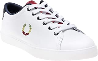 Fred Perry Bella Freud Lottie Leather Womens Sneakers White