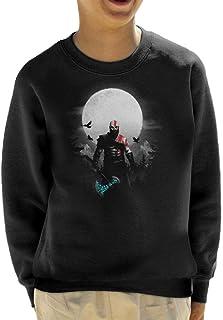 God of War Kratos Moon Kid's Sweatshirt