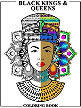 Black Kings and Queens Coloring Book: Adult Colouring Fun Stress Relief Relaxation and Escape (Color In Fun)