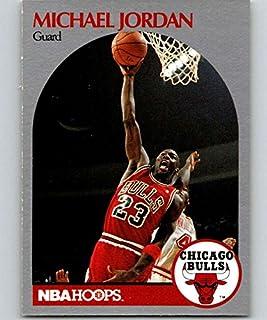 the best attitude 2bd9a 4e7a7 1990-91 Hoops #65 Michael Jordan Bulls NBA Basketball
