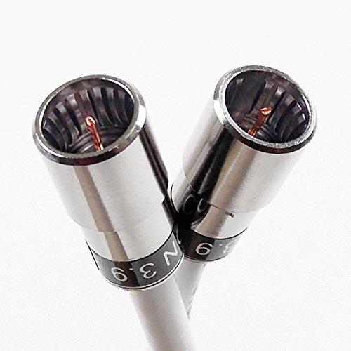5 m Kabelmodem-F-Quick-Anschlusskabel mit Cabelcon F-SC-59 CX3 3.9 und Ören HD 083, 3-Fach geschirmt, Klasse A+