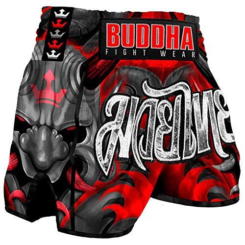 Pantalón Muay Thai Kick Boxing Buddha Retro Demon