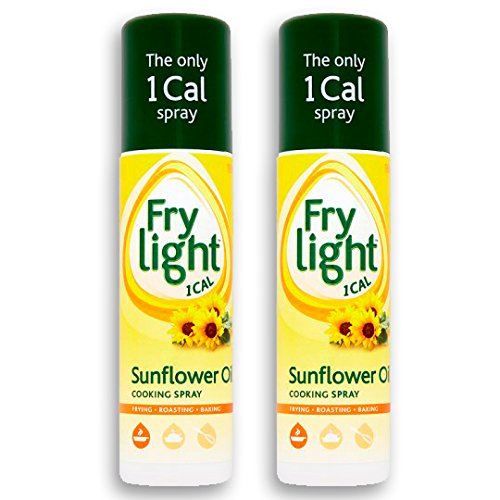 Frylight Sunflower Oil Cooking Spray 2x 190ml (380ml) - 1 Cal. per Spray!