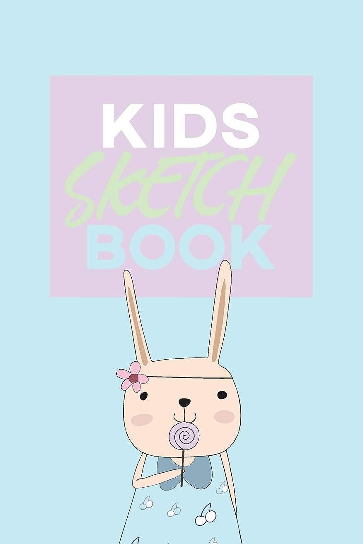 に沿って定期的な学習Kids Sketch Book: Kawaii Cute Rabbit Bunny Animal Pattern
