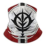 Men Women Microfiber UV Protection Gundam-Zeon Bandanas Super Soft Dust Protect Motorcycle Mask Multifunctional Headwear For Sports,Summer,Outdoor Cycling Motorcycle