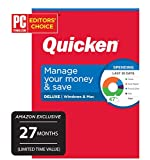 Quicken Deluxe Personal Finance - 27-Month Subscription (Amazon Exclusive) [PC/Mac Online Code]
