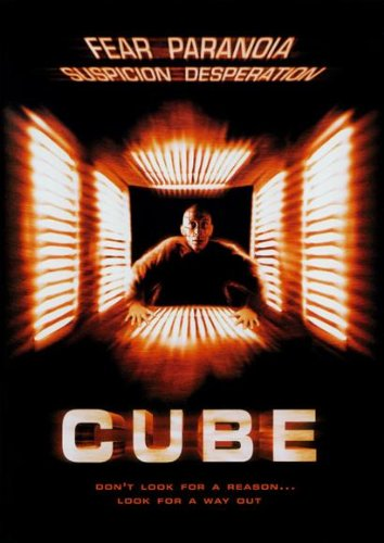Cube POSTER Movie (11 x 17 Inches - 28cm x 44cm) (1997) (Style B)