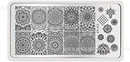 Nail Art Stamping Template Mandala Design Manicure Print Image Plates Nail Painting Tools