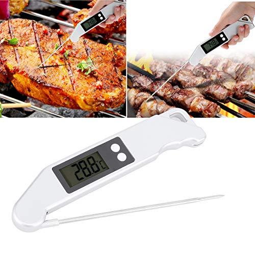 Surebuy Termómetro de Cocina, Accesorio de Cocina para cocinar, Utensilios de Cocina, Alta precisión para Hacer Dulces y medidor de Temperatura para Hornear, para Cocina, para hornos, barbacoas