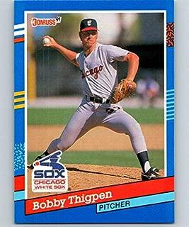 Baseball MLB 1991 Donruss #90 Bobby Thigpen White Sox