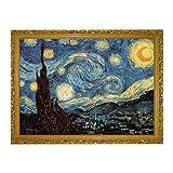 NUOBESTY Puzzle di Notte Stellata Puzzle di Carta Puzzle di Van Gogh per Adulti, 1000 Pezzi