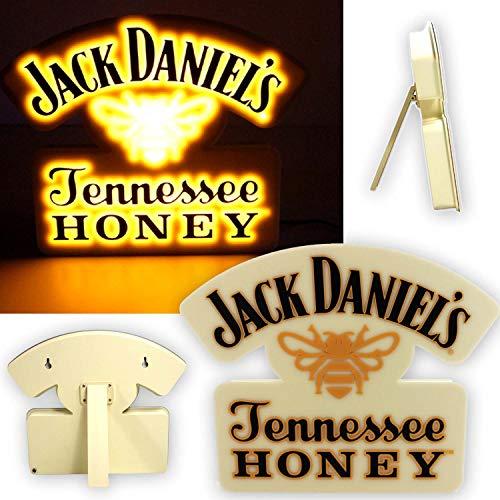 JACK DANIELS Coole Whiskey Leucht-Reklame 36 cm Tennessee Honey Hängen Stellen ~mn 5h1r
