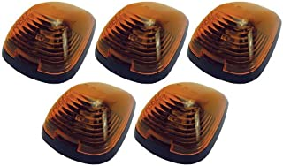 Pacer Performance 20-235 Hi-Five Amber Ford Style Cab Roof Light Kit, (Pack of 5)
