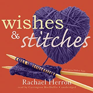 Wishes and Stitches audiobook cover art