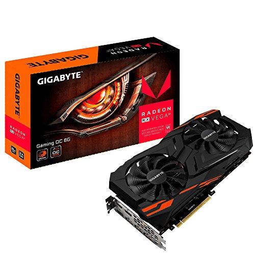 Gigabyte GV-RXVEGA56GAMING OC Radeon RX Vega 56Gaming OC Grafikkarte 8GB schwarz