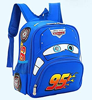 3D Little Kid's School Backpack Children School Bags Cartoon Car Backpack For Kindergarten Baby
