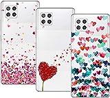 Young & Min Funda para Samsung Galaxy A42 5G, (3 Pack) Transparente TPU Silicona Carcasa Delgado...