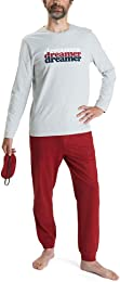 Beryl Pyjamas Homme Bio et Masque