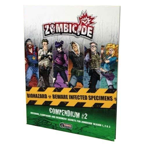 CoolMiniOrNot Inc GUG0091 Compendium 2: Zombicide, Mehrfarbig