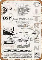 DS 19カー メタルポスタレトロなポスタ安全標識壁パネル ティンサイン注意看板壁掛けプレート警告サイン絵図ショップ食料品ショッピングモールパーキングバークラブカフェレストラントイレ公共の場ギフト