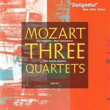 Mozart: Oboe Quartet, Clarinet Quartet, String Quartet K.575