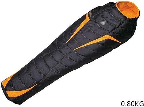 JFFFFWI Sac de Couchage de Camping léger sur Pied Enveloppe de Sac de Couchage Camouflage extérieur pour randonnée en Camping Adulte (Taille  0,80 kg)
